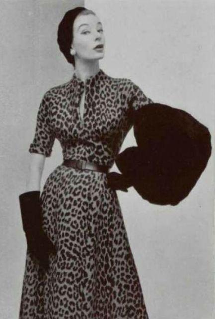 1952 Dior Christian Dior Vintage Vintage Fashion