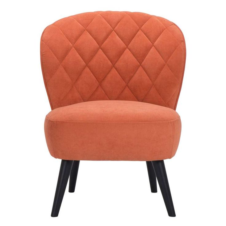 Fauteuil Vita - oranje | Leen Bakker