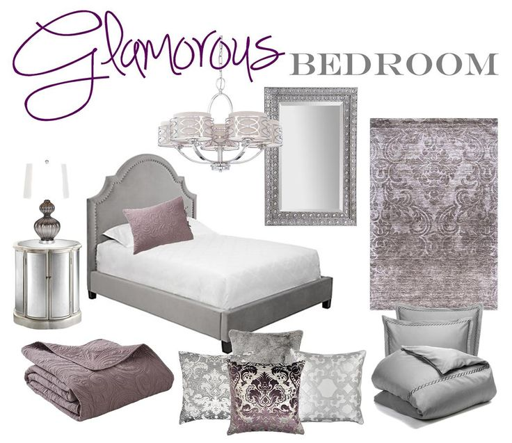Gray And Purple Master Bedroom Ideas best 20+ glamorous bedrooms ideas on pinterest | glam bedroom