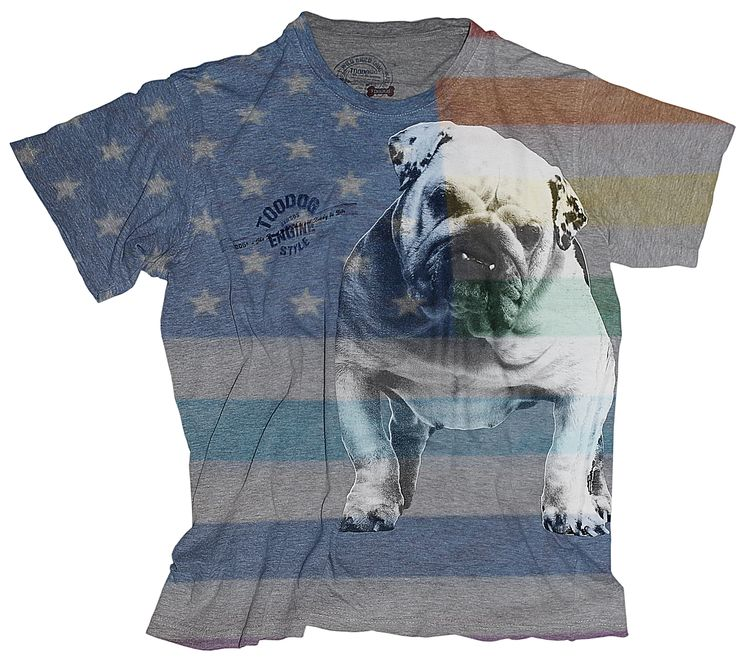 Toodog non ama la guerra. No war tshirt