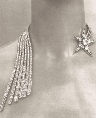 Comete Necklace.  For Timeline: http://inside.chanel.com/en/timeline/1883_birth-of-gabrielle-chanel