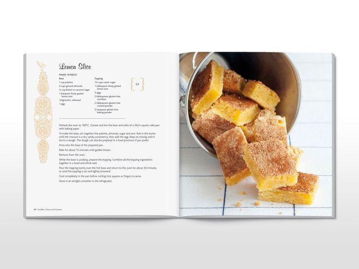 cookbook layout ideas