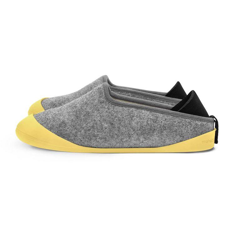 Larvik Light Grey Mahabis Classic Bundle (+FREE soles)