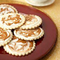 Two-Tone Cinnamon Cookies