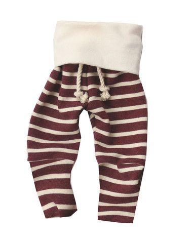 maroon stripe skinny sweats
