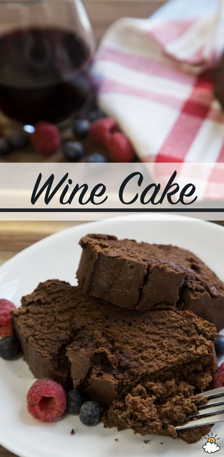 This Red Wine Cake is the perfect way to unwind after a long week. Two of our favorites meet to make the perfectly tasty treat. This Red Win Cake is great for a girl's night, birthday or just for you (we won't tell)!