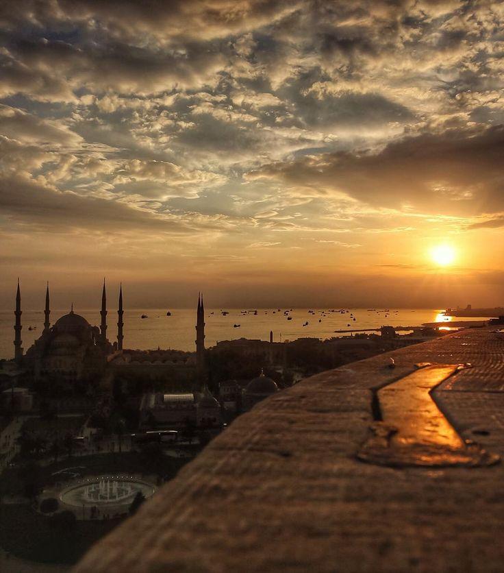 Sultanahmet-İstanbul  B     Vistas desde Sultanahmet-İstanbul Turquía.