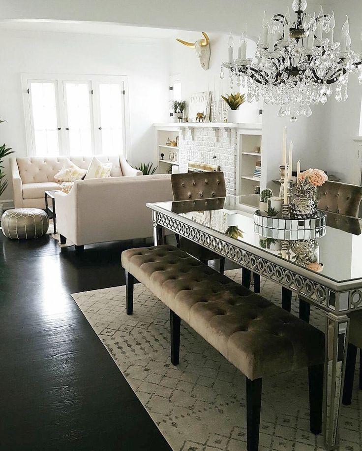 Glamorous Dining Rooms: Best 25+ Glamorous Living Rooms Ideas On Pinterest
