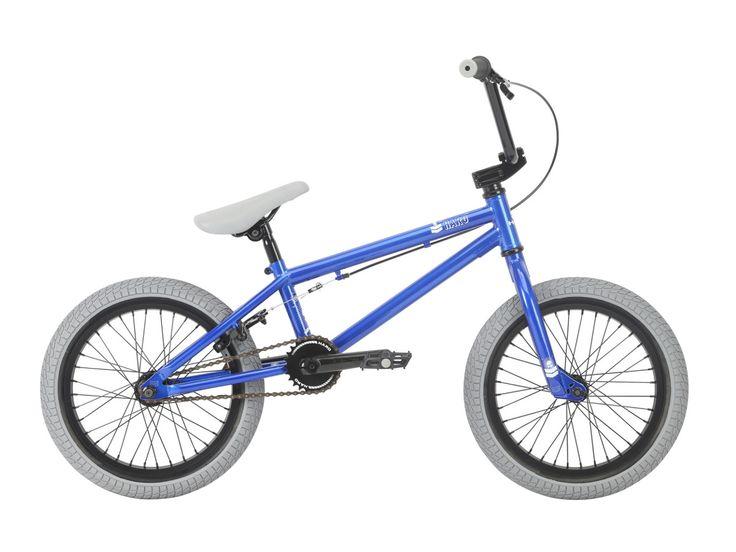 "Haro Bikes ""Leucadia 16"" 2018 BMX Bike - 16 Inch | Gloss Metallic Blue | kunstform BMX Shop & Mailorder - worldwide shipping"