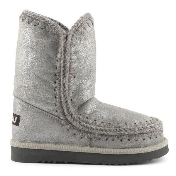 Mou Eskimo Short Boots Women Rock Metallic - MOU #mou #eskimo #boots #women #fashion