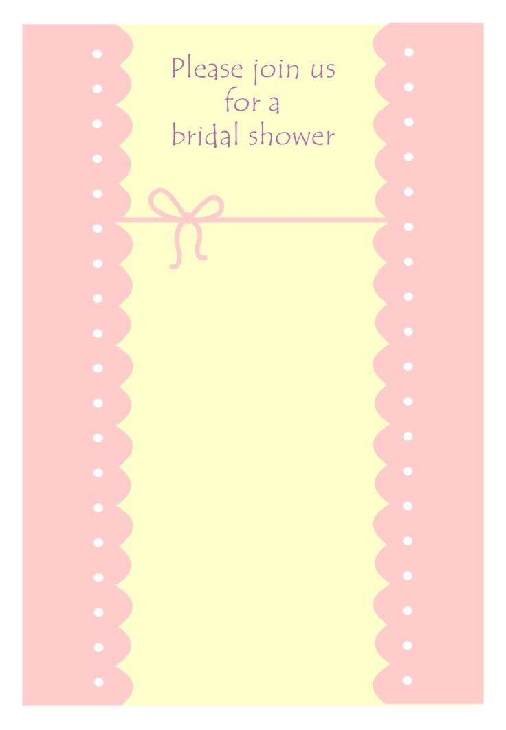 15 best INVITATION TEMPLATES images on Pinterest Invitation - free bridal shower invitations templates