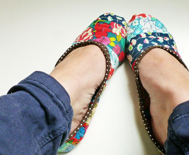 Bloomsbury slippers by leila where orchids grow via flickr