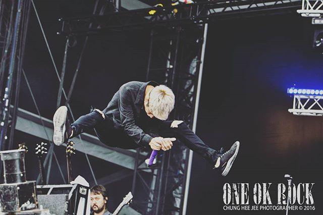 #OneOkRock #OOR #35xxxv #One_ok_rock © #Jchunghee #OneokrockPhotographer #OOR_Photographer / Chung Hee Jee Photographer / #HippodromeDeLongchamp / #DownloadFestival2016 #DownloadParis #DownloadFestivalFrance / #OneOkRockEurope #OneOkRockParis / with @tomo_10969 @10969taka @ryota_0809 @toru_10969 / #TheBeginning #Heartache #Decision #MightyLongFall #ClockStrikes #BeTheLight #Chaosmyth / #Taka #Toru #Ryota #Tomoya More pictures are cominh soon, Stay tuned