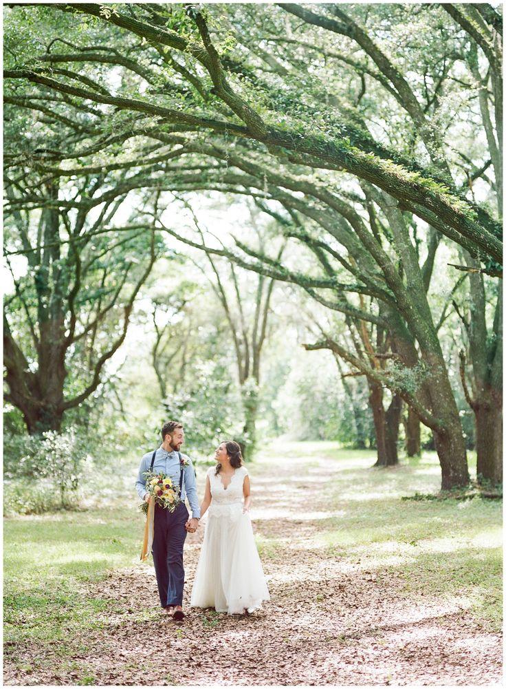 Tuscan Inspired Wedding In Dade City Florida