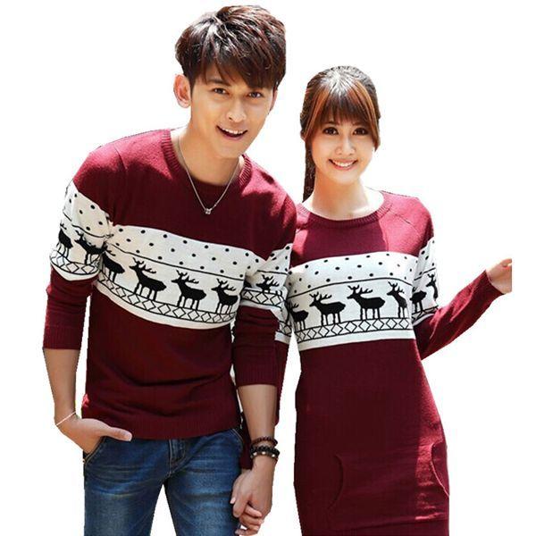 Fun Couple Christmas Sweaters