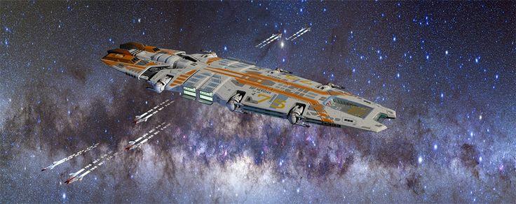 concept ships: Concept ships by Joachim Sverd