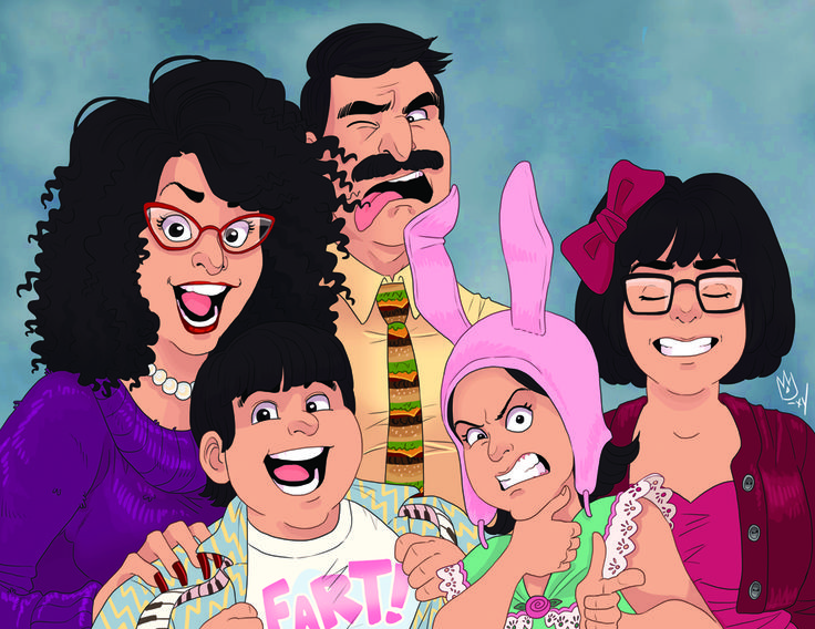 Oh, by the way - @halloweenkitties is right, this Bob's Burgers piece is new, and has not been posted anywherreeehhmmm well… now it has! This was actually one of the first ideas I came up with when I...