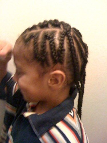 Braids for Young Boys   My latest braid styles - CafeMom