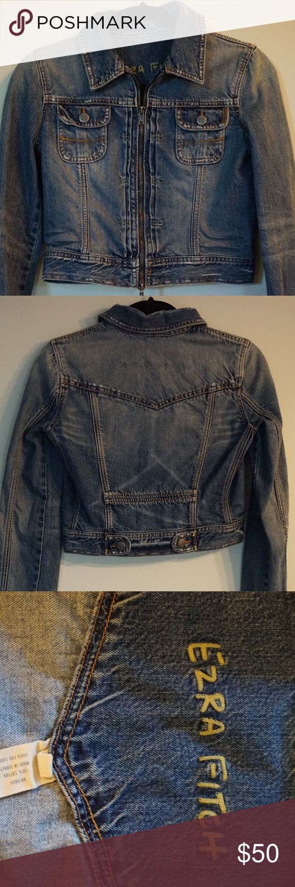 Cropped Abercrombie and Fitch jean jacket Cropped Abercrombie and Fitch jean jacket. Only worn a few times. In great condition. Abercrombie & Fitch Jackets & Coats Jean Jackets