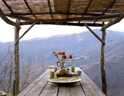 perfect: Company Picnics, Outdoor Rooms, Summer Picnics, Breakfast, The View, Dinners, Picnics Tables, Outdoor Tables, Places