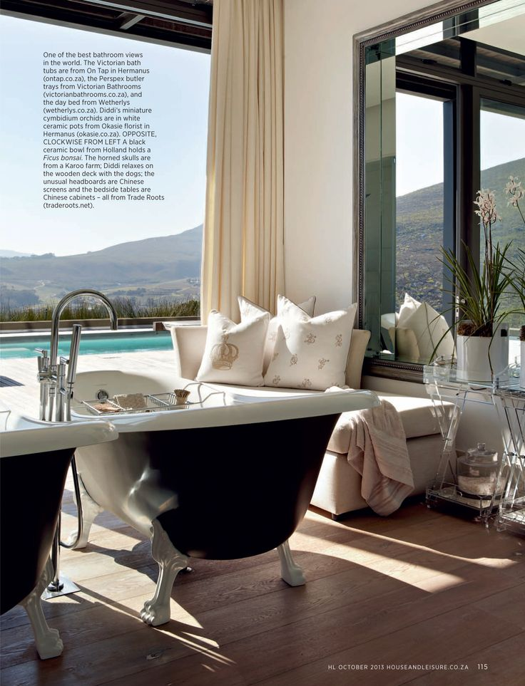 House and Leisure, 'Mountain Magic', Issue 230 October 2013 pg 07 - Charles van Breda Architects