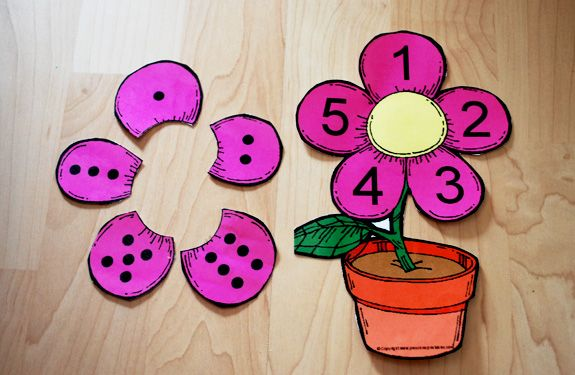 Maybe use something like this but use letters on the petals and ending sounds in the middle for CVC words.  Make the petals on one sheet and attach it with a brad in the middle so it can spin.