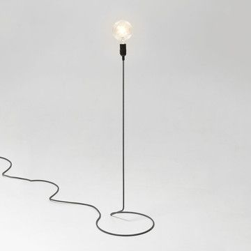 From Us With Love: Cord Floor Lamp. Gaaf om zoiets zelf te maken