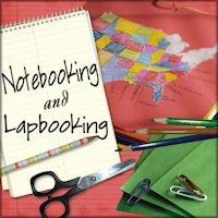 lapbooks and notebooks.