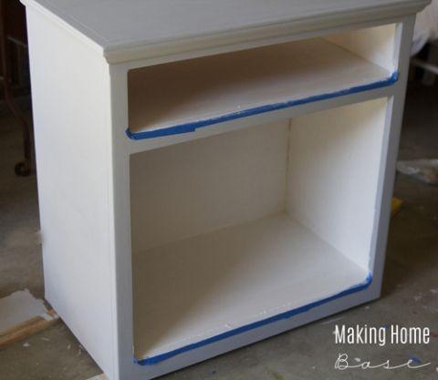 DIY Print Center Makeover