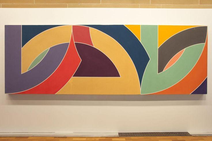 Replica of Frank Stella artwork in Grovsenor Place