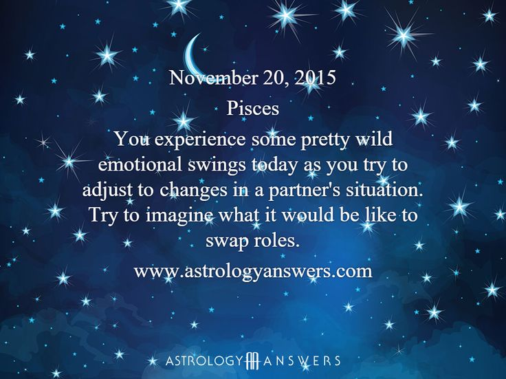 The Astrology Answers Daily Horoscope for Friday, November 20, 2015 #astrology