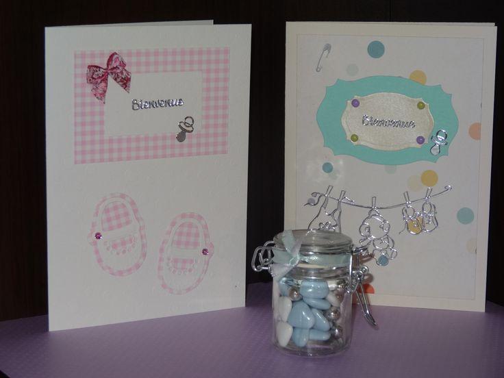 Carte félicitations naissance format A5