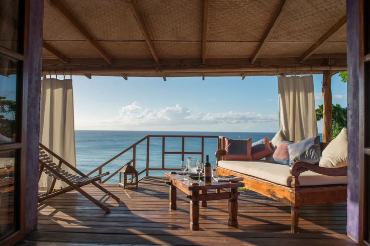 Laluna's cottage suite, with private veranda and plunge pool.