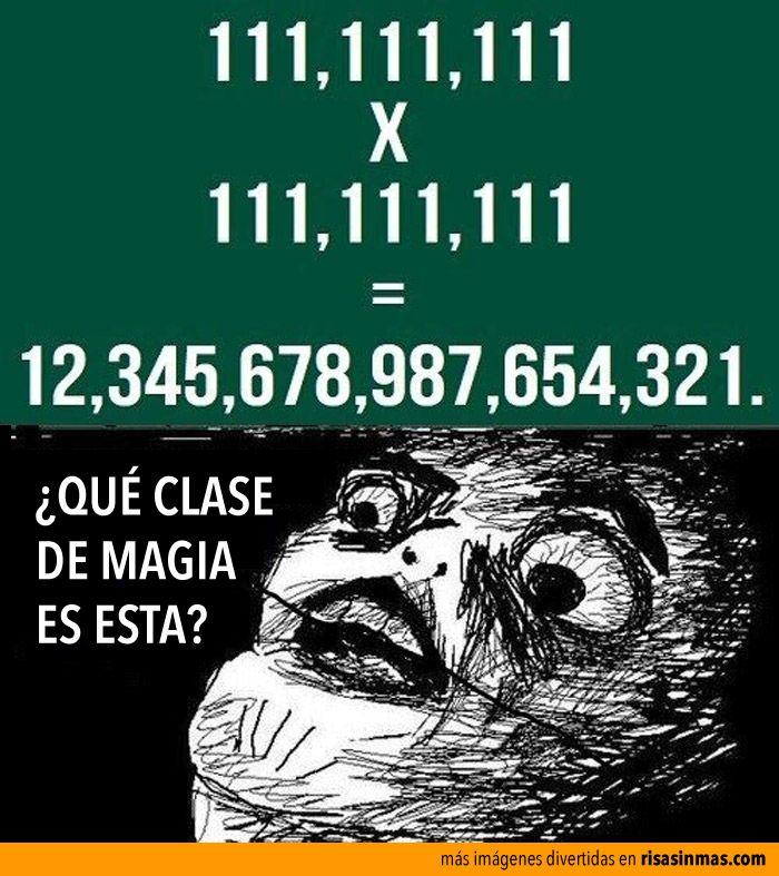 Misterio matemático.