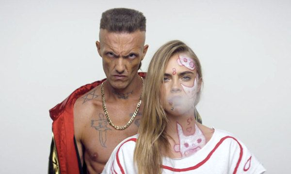"""Watch the Official Music Video for Die Antwoord's """"Ugly Boy"""" ft. Cara Delevigne and Marilyn Manson"""