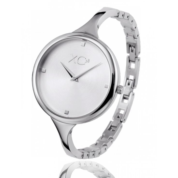 Ladies stainless steel BULLE white watches - Xc38