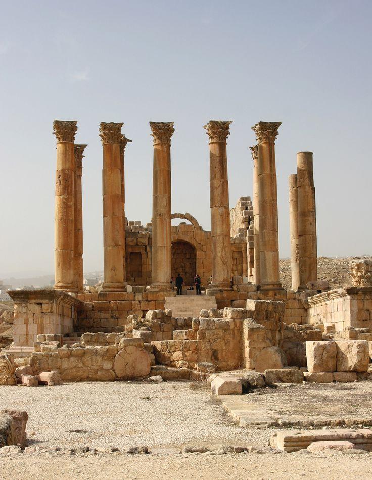 Sanctuary of Artemis. Jerash. Jordan | Flickr - Photo Sharing!