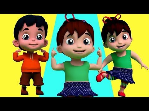 testa spalle ginocchia | Rima educativa | bambini canzoni | Head Shoulder Knees | Body Parts Song - YouTube