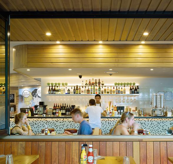 South Side Diner, South Bank, Brisbane by Arkhefield. Photography: Scott Burrows