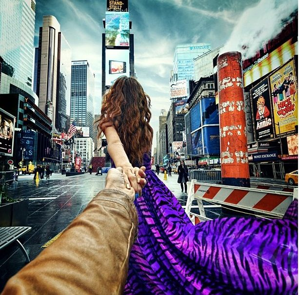 Best Follow Me To By Murad Osmann Images On Pinterest Amazing - Guy takes awesome photos girlfriend tugs along