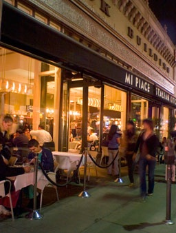 Mi Piace in Pasadena is my favorite Italian restaurant. The food is not so heavy as other places, but it is soo delicious. I once ate here three times in one week with my friend Shane because it was so good. Great ambiance too!