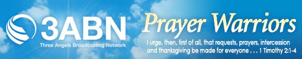 Submit a prayer request to 3ABN's Pastoral Ministries Department.