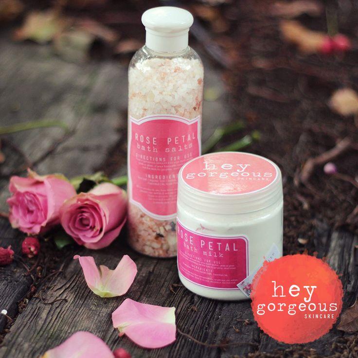 """LUXURIOUS ROSE PETAL BATH SALTS.. can you say """" Gorgeous""""!!"""