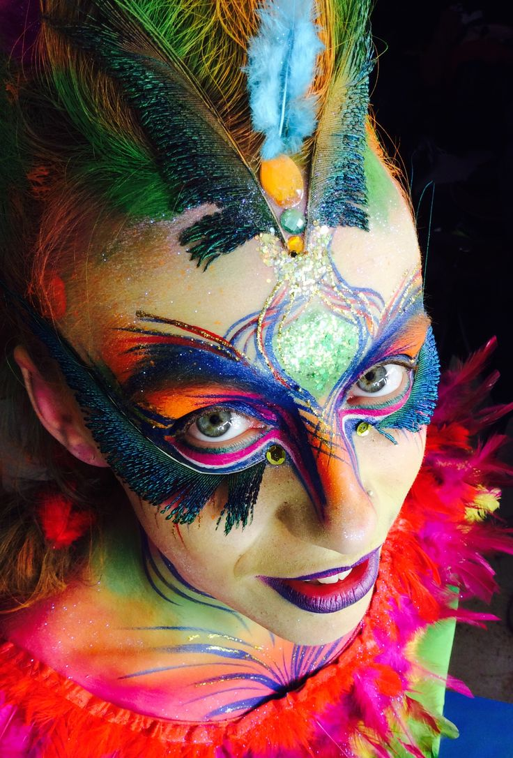 Booking agent for Naomi and Philly Face & Body Painters