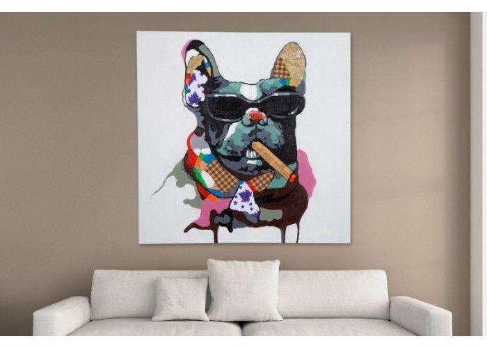 #painting #decorations #homedecor #irenesworld #yourhome #yourplayground #homeaccesories #dog #cigarette