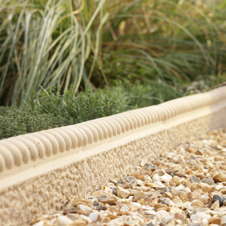 Rope Top Paving Edging Cotswold, (L)600mm (H)150mm (T)50mm Pack of 38 | Departments | DIY at B&Q
