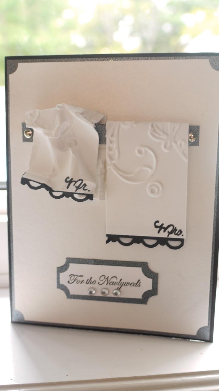 wedding/anniversary card