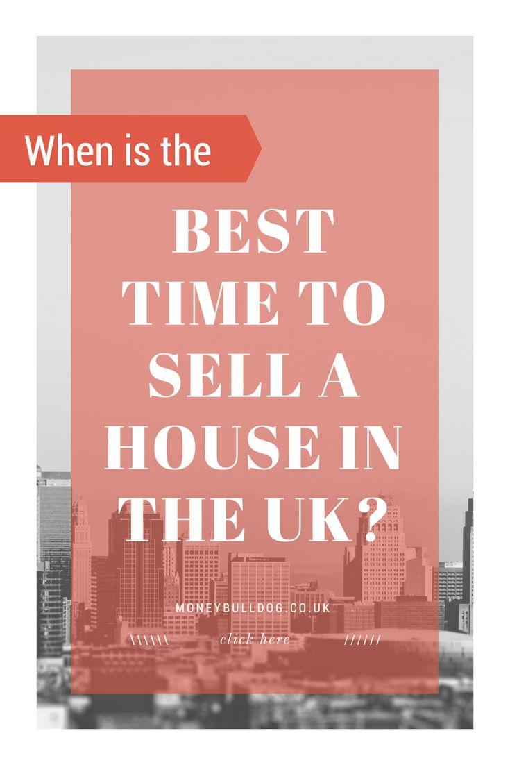 When is the Best Time to Sell a House in the UK?