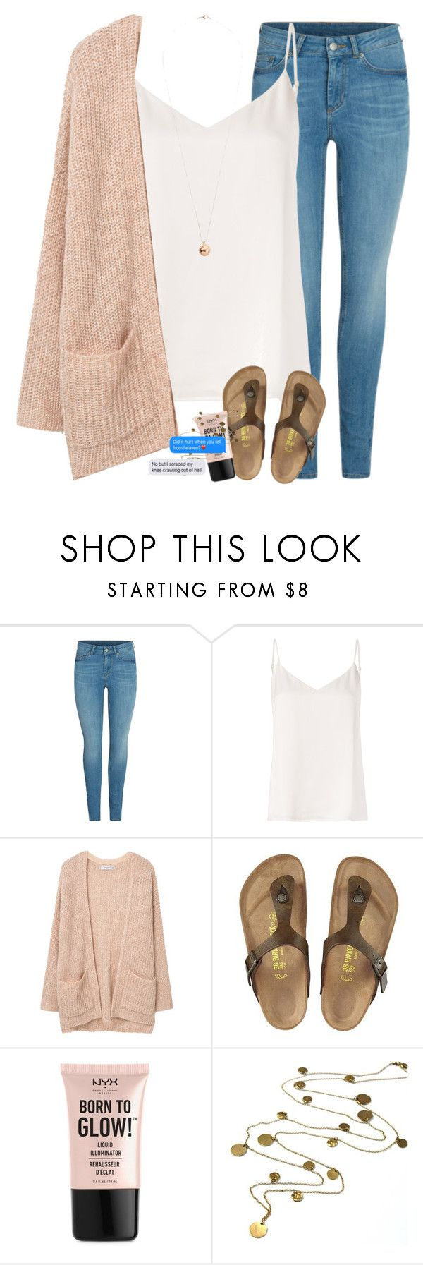 """Help me polarize"" by labures on Polyvore featuring L'Agence, MANGO, Birkenstock, NYX, Boutique by Jamie and Dorothy Perkins"
