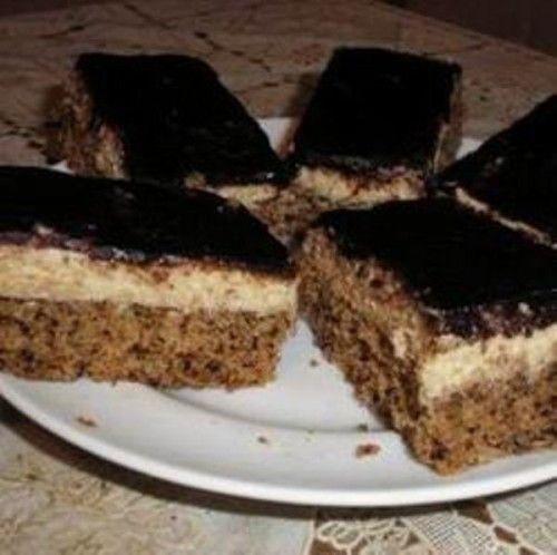 Eszméletlenül finom: Diós krémes sütemény – nagyon bevált, szinte pillanatok alatt elfogyott | Ketkes.com